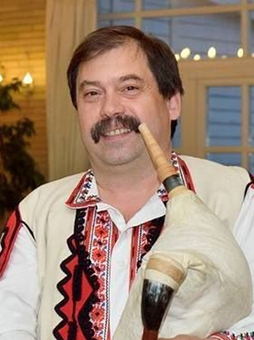 Българския гайдар Венцислав Андонов